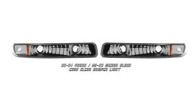 Headlights & Tail Lights - Headlights - OptionRacing - GMC Sierra Option Racing Bumper Light - 16-19105