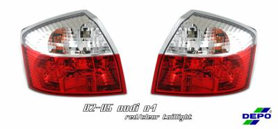 Headlights & Tail Lights - Tail Lights - OptionRacing - Audi A4 Option Racing Taillight - 17-11105