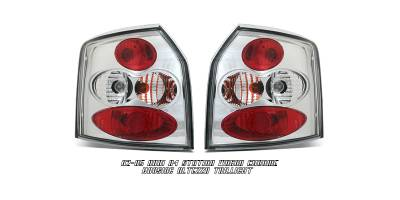 Headlights & Tail Lights - Tail Lights - OptionRacing - Audi A4 Option Racing Altezza Taillight - 17-11107