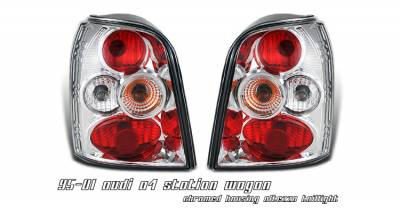 Headlights & Tail Lights - Tail Lights - OptionRacing - Audi A4 Option Racing Altezza Taillight - 17-11109