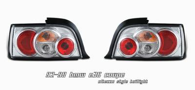 Headlights & Tail Lights - Tail Lights - OptionRacing - BMW 3 Series Option Racing Altezza Taillight - 17-12111