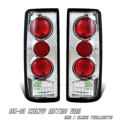 Headlights & Tail Lights - Tail Lights - OptionRacing - Chevrolet Astro Option Racing Altezza Taillight - 17-15115