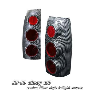 Headlights & Tail Lights - Tail Lights - OptionRacing - Chevrolet C10 Option Racing Altezza Taillight - 17-15120