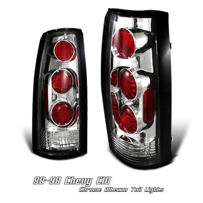 Headlights & Tail Lights - Tail Lights - OptionRacing - Cadillac Escalade Option Racing Altezza Taillight - 17-15122