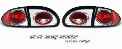 Headlights & Tail Lights - Tail Lights - OptionRacing - Chevrolet Cavalier Option Racing Altezza Taillight - 17-15127