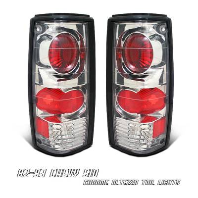 Headlights & Tail Lights - Tail Lights - OptionRacing - Chevrolet S10 Option Racing Altezza Taillight - 17-15133