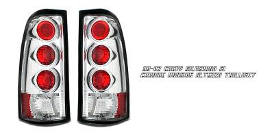 Headlights & Tail Lights - Tail Lights - OptionRacing - GMC Sierra Option Racing Altezza Taillight - 17-15137