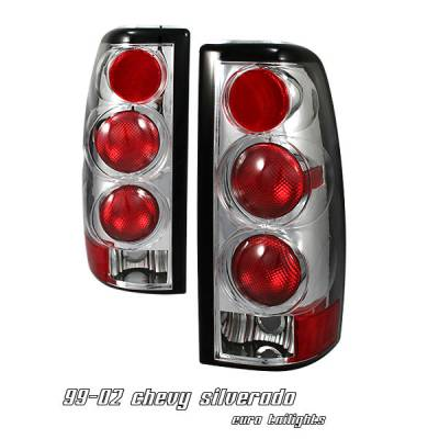 Headlights & Tail Lights - Tail Lights - OptionRacing - GMC Sierra Option Racing Altezza Taillight - 17-15138