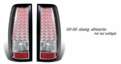 Headlights & Tail Lights - Tail Lights - OptionRacing - GMC Sierra Option Racing LED Taillight - 17-15140