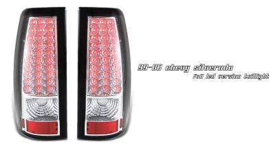 Headlights & Tail Lights - Tail Lights - OptionRacing - GMC Sierra Option Racing LED Taillight - 17-15141