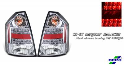 Headlights & Tail Lights - Tail Lights - OptionRacing - Chrysler 300 Option Racing Taillight - 17-16151