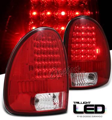 Headlights & Tail Lights - Tail Lights - OptionRacing - Dodge Durango Option Racing LED Taillight - 17-17159
