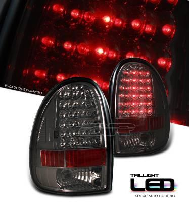 Headlights & Tail Lights - Tail Lights - OptionRacing - Dodge Durango Option Racing LED Taillight - 17-17160