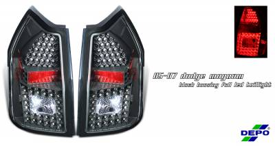 Headlights & Tail Lights - Tail Lights - OptionRacing - Dodge Magnum Option Racing Taillight - 17-17161