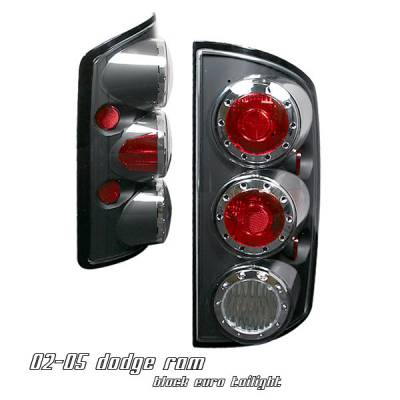 Headlights & Tail Lights - Tail Lights - OptionRacing - Dodge Ram Option Racing Altezza Taillight - 17-17166