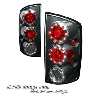 Headlights & Tail Lights - Tail Lights - OptionRacing - Dodge Ram Option Racing Altezza Taillight - 17-17167