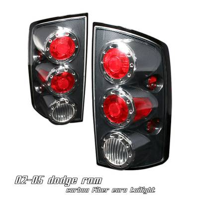 Headlights & Tail Lights - Tail Lights - OptionRacing - Dodge Ram Option Racing Altezza Taillight - 17-17168