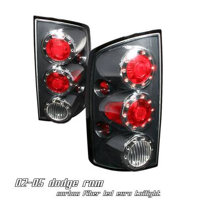 Headlights & Tail Lights - Tail Lights - OptionRacing - Dodge Ram Option Racing Altezza Taillight - 17-17179