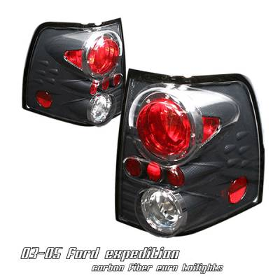 Headlights & Tail Lights - Tail Lights - OptionRacing - Ford Expedition Option Racing Altezza Taillight - 17-18188