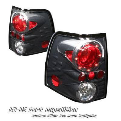 Headlights & Tail Lights - Tail Lights - OptionRacing - Ford Expedition Option Racing Altezza Taillight - 17-18189
