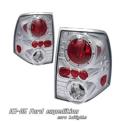 Headlights & Tail Lights - Tail Lights - OptionRacing - Ford Expedition Option Racing Altezza Taillight - 17-18190