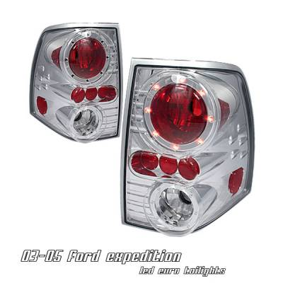 Headlights & Tail Lights - Tail Lights - OptionRacing - Ford Expedition Option Racing Altezza Taillight - 17-18192