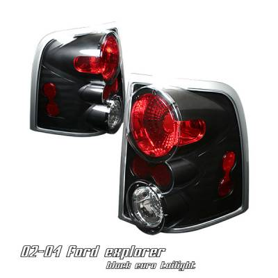 Headlights & Tail Lights - Tail Lights - OptionRacing - Ford Explorer Option Racing Altezza Taillight - 17-18196