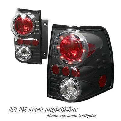 Headlights & Tail Lights - Tail Lights - OptionRacing - Ford Expedition Option Racing Altezza Taillight - 17-18197