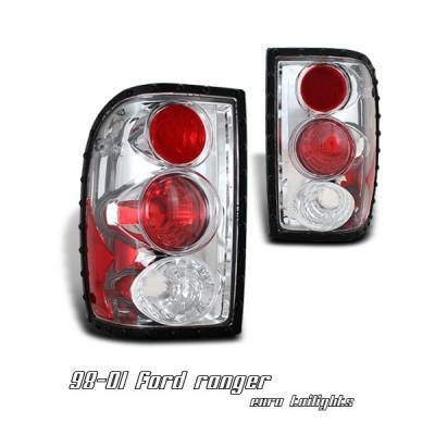 Headlights & Tail Lights - Tail Lights - OptionRacing - Ford Ranger Option Racing Altezza Taillight - 17-18230