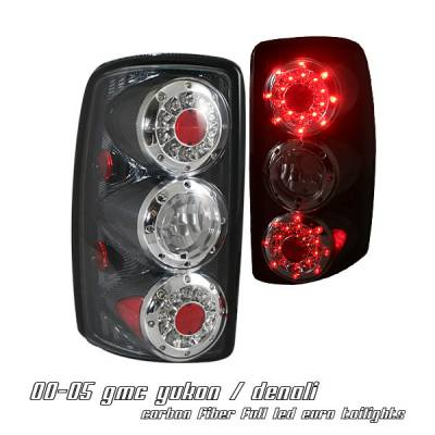 Headlights & Tail Lights - Tail Lights - OptionRacing - Chevrolet Tahoe Option Racing Altezza Taillight - 17-19239