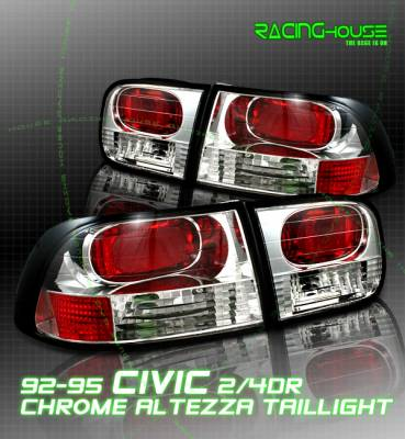 Option - Chrome Euro Clear Altezza Taillights 17-20257