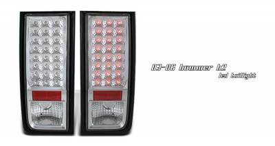 Headlights & Tail Lights - Tail Lights - OptionRacing - Hummer H2 Option Racing LED Taillight - 17-21275