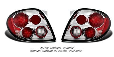 Headlights & Tail Lights - Tail Lights - OptionRacing - Hyundai Tiburon Option Racing Altezza Taillight - 17-22276