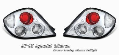 Headlights & Tail Lights - Tail Lights - OptionRacing - Hyundai Tiburon Option Racing Altezza Taillight - 17-22277