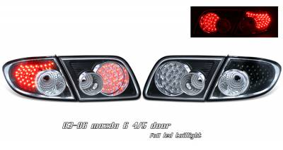 Headlights & Tail Lights - Tail Lights - OptionRacing - Mazda 6 Option Racing LED Taillight - 17-31294