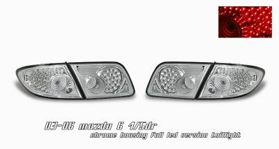 Headlights & Tail Lights - Tail Lights - OptionRacing - Mazda 6 Option Racing LED Taillight - 17-31296