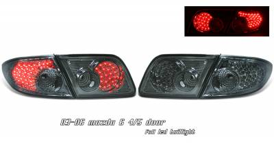 Headlights & Tail Lights - Tail Lights - OptionRacing - Mazda 6 Option Racing LED Taillight - 17-31297