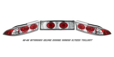 Headlights & Tail Lights - Tail Lights - OptionRacing - Mitsubishi Eclipse Option Racing Altezza Taillight - 17-35305