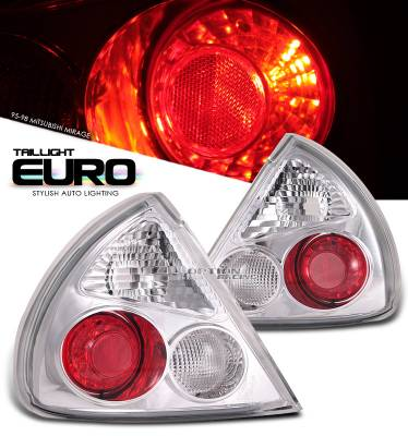 Headlights & Tail Lights - Tail Lights - OptionRacing - Mitsubishi Mirage Option Racing Altezza Taillight - 17-35308