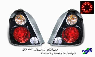 Headlights & Tail Lights - Tail Lights - OptionRacing - Nissan Altima Option Racing Taillight - 17-36312