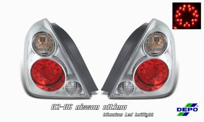 Headlights & Tail Lights - Tail Lights - OptionRacing - Nissan Altima Option Racing Taillight - 17-36313