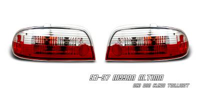 Headlights & Tail Lights - Tail Lights - OptionRacing - Nissan Altima Option Racing Altezza Taillight - 17-36314