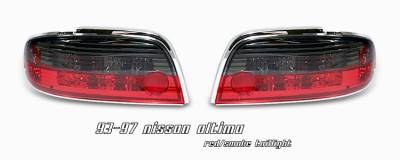 Headlights & Tail Lights - Tail Lights - OptionRacing - Nissan Altima Option Racing Altezza Taillight - 17-36315