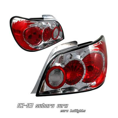 Headlights & Tail Lights - Tail Lights - OptionRacing - Subaru Impreza Option Racing Altezza Taillight - 17-42327
