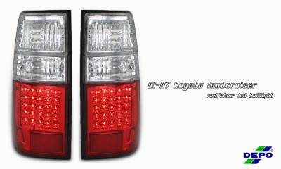 Headlights & Tail Lights - Tail Lights - OptionRacing - Toyota Land Cruiser Option Racing Taillight - 17-44336