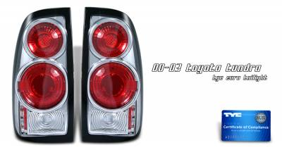Headlights & Tail Lights - Tail Lights - OptionRacing - Toyota Tundra Option Racing Altezza Taillight - 17-44340