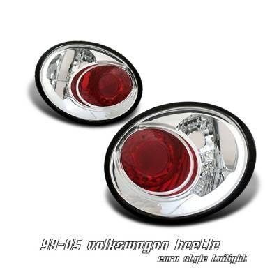 Headlights & Tail Lights - Tail Lights - OptionRacing - Volkswagen Beetle Option Racing Altezza Taillight - 17-45341