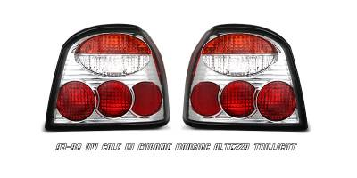 Headlights & Tail Lights - Tail Lights - OptionRacing - Volkswagen Golf Option Racing Altezza Taillight - 17-45342