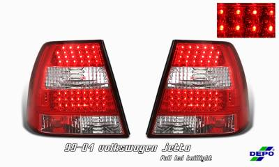 Headlights & Tail Lights - LED Tail Lights - OptionRacing - Volkswagen Jetta Option Racing Taillight - 17-45344
