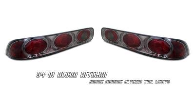 Headlights & Tail Lights - Tail Lights - OptionRacing - Acura Integra 2DR Option Racing Altezza Taillight - 18-10101